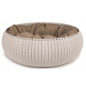 CURVER Cozy Pet Bed - Beige - Ø 50 cm