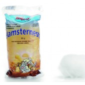 HAMSTERNEST Zoobest, synthetisch - WIT 30GR