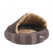 SCRUFFS AristoCat Dome Bed Brown