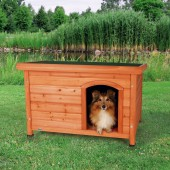 Classic Dog Kennel - S/M - Bruin - 85×58×60 cm