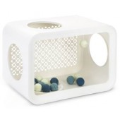 CAT CUBE PLAY DUNE - Angora White - 49 x 29 x 32,6 cm