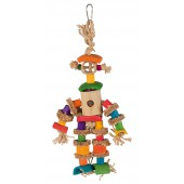TRIXIE Natural Toy with Jute Rope - 25 cm