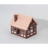 Wood House ROYAL RESORT WOOD S - 16x12x13 cm - Europet Bernina