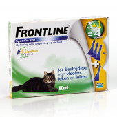 FRONTLINE - SPOT ON KAT - 4 PIPETTEN