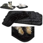 MIDWEST Black Deluxe Pet Bed - in meerdere maten