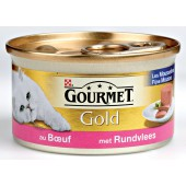 GOURMET - GOLD MOUSSE 85 GR RUND ADULT