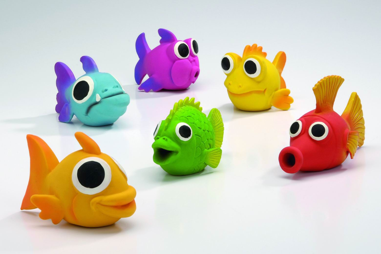 LATEX FISHIES ASS - 14 x 6 cm