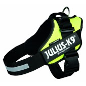 JULIUS-K9 POWER HARNAS - NEON GEEL - in meerdere maten