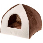 Ferplast - TIPI - Medium Soft - Bruin - 42 x 42 x h 36 cm
