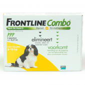 Frontline Combo - Small tot 10 kg - 3 pip