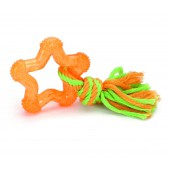 TPR SHINING STAR - Orange - 8 cm