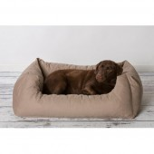 Rebel Petz Box Bed - Taupe - in 3 maten