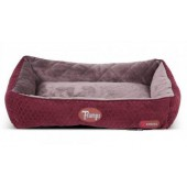Scruffs Thermal Lounger Burgundy