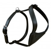 OP=OP Active Harness Black - Soft leather - L - 72-81 cm / 30 mm