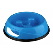 Anti-Schrokbak / Slow Feed - Plastic Bowl - in 3 kleuren en maten