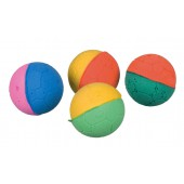 Set of Soft Balls, Foam Rubber - Ø 4,3 cm