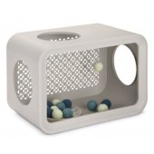 CAT CUBE PLAY DUNE - Grey - 49 x 29 x 32,6 cm