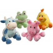Little Friends soft toy puppy - assorted - ca. 16 x 10 cm