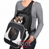 Front carrier, nylon, 30×26×33 cm, black-grey