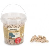 Beeztees - Mini Bones Salmon&Rice - Trainingskoekjes - 500 gram