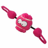 Coockoo Shoot I ball with string Roze - 7,8cm - Met filmpje!