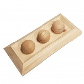 Houten sniffle `n snack puzzle fay 28x13x6 cm