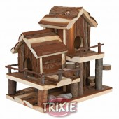 BIRTE Natural Living Hamsterhaus - 25 × 16 × 25 cm
