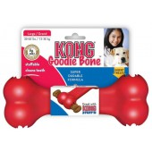Kong - Goodie Bone - Rood - Small - voor snacks