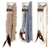 """AFP Lambswool - 30"""" Cuddle Tail Wand"""