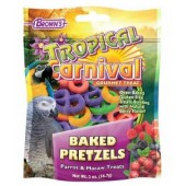 Brown's Tropical Carnival Baked Bird Pretzels