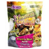 Brown's Tropical Carnival Fruit and Nut Parrot Treat