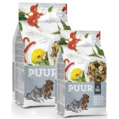 PUUR Chinchilla & Degoe - in 500 Gram en 2 Kilo
