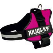 JULIUS-K9 POWER HARNAS - FUCHSIA - in meerdere maten