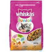 WHISKAS - BROK JUNIOR KIP 950 GR
